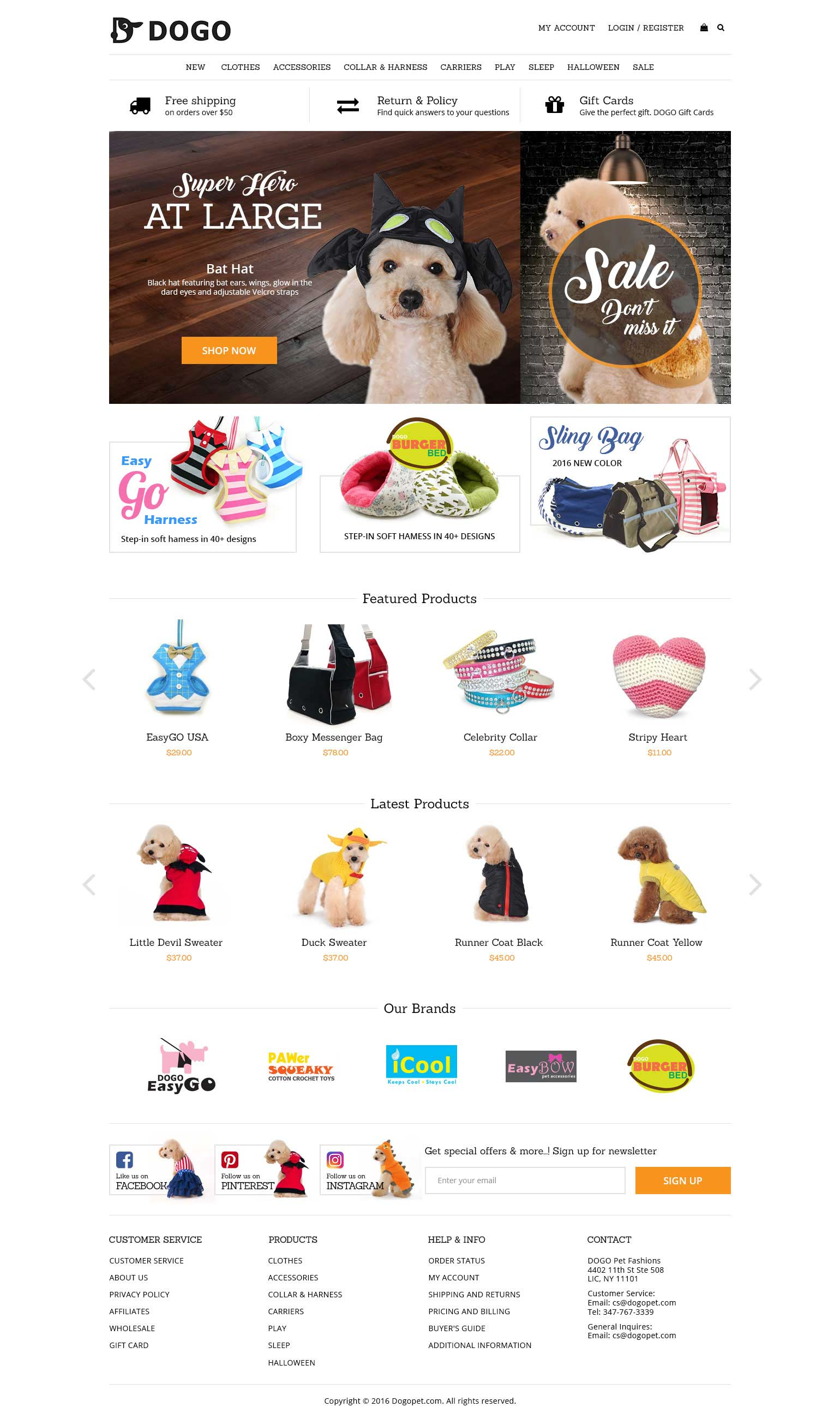 cd1c9e3bb7c Dogopet - Website Project by FK Designz